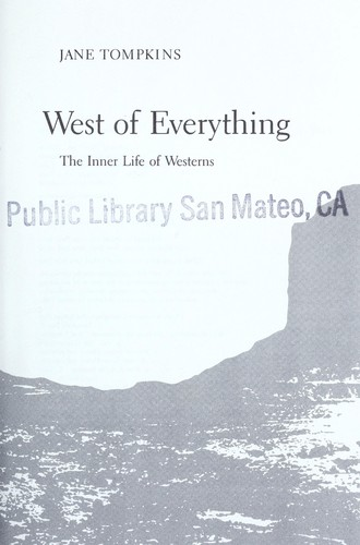 West of everything by Jane P. Tompkins