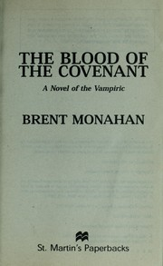 Cover of: The blood of the covenant