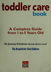 The toddler care book
