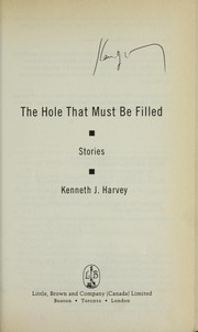 Cover of: The hole that must be filled