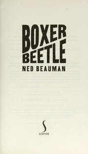 Cover of: Boxer, beetle