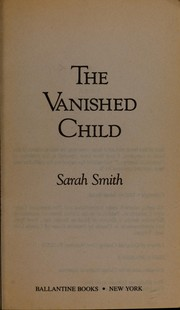 Cover of: The vanished child