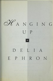 Cover of: Hanging up