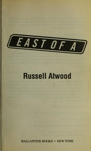 Cover of: East of A