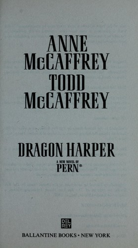 Dragon harper : a new novel of Pern by