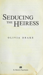 Cover of: Seducing the heiress