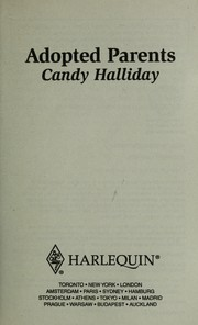 Cover of: Adopted parents | Candy Halliday