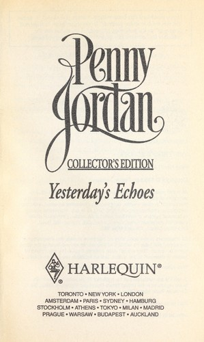 Yesterday's Echoes by Penny Jordan
