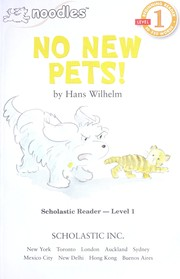 Cover of: No new pets! | Hans Wilhelm