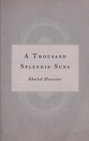 Cover of: A thousand splendid suns