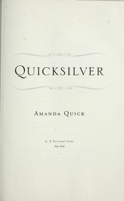 Cover of: Quicksilver | Amanda Quick