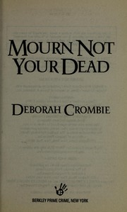 Cover of: Mourn not your dead