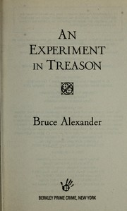Cover of: An experiment in treason