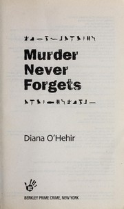 Cover of: Murder never forgets