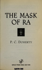 Cover of: The mask of Ra