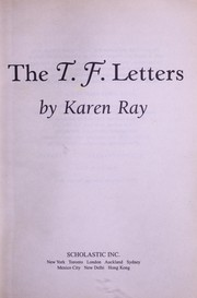 Cover of: The T.F. letters