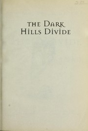 Cover of: Dark Hills Divide (Land of Elyon)