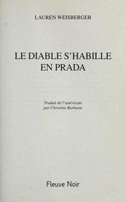 Cover of: Le diable s'habille en Prada