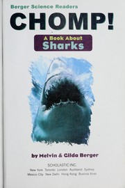 Cover of: Chomp! | Melvin Berger