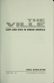 Cover of: The Ville