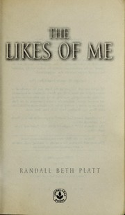 Cover of: The likes of me