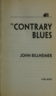 Cover of: The contrary blues