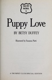 Cover of: Puppy love