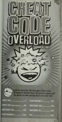 Cheat code overload by