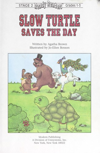 Slow turtle saves the day by Agatha Brown