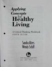 Cover of: Applying concepts for healthy living