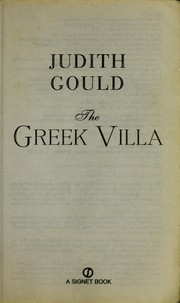 Cover of: The Greek villa
