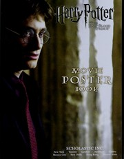 Harry Potter and the half-blood prince movie poster book by Scholastic Inc.