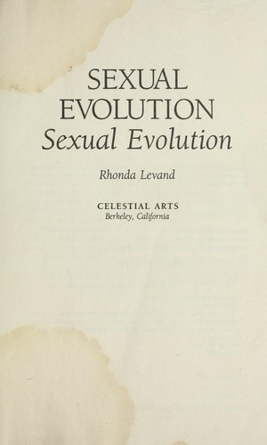 Sexual evolution by Rhonda Levand