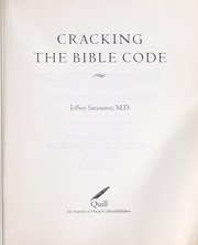 Cover of: Cracking the Bible code