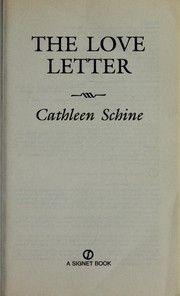 Cover of: The love letter