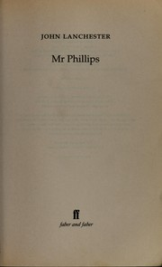 Cover of: Mr Phillips