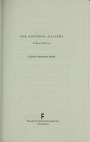 Cover of: The National Gallery | Charles Saumarez Smith