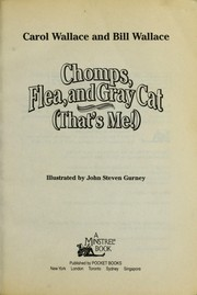 Cover of: Chomps, Flea, and Gray Cat