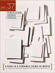 Cover of: SPD 37th Publication Design Annual (Publication Design Annual, No. 37) | Society of Publication Designers