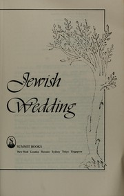 Cover of: The new Jewish wedding | Anita Diamant