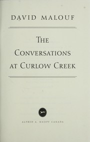 Cover of: The conversations at Curlow Creek