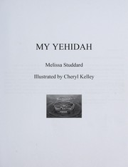 Cover of: My Yehidah | Melissa Studdard