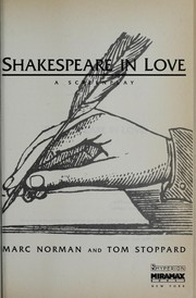 Cover of: Shakespeare in love