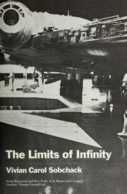 Cover of: The limits of infinity | Vivian Carol Sobchack
