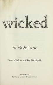 Cover of: Wicked | Nancy Holder