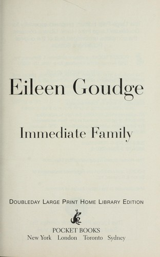 Immediate family by Eileen Goudge