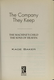 Cover of: The company they keep