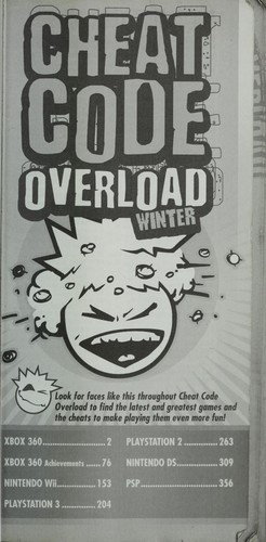 Cheat code overload by BradyGames (Firm)