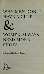 Why men dont have a clue & women always need more shoes