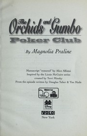 Cover of: Lizzie McGuire: The Orchids and Gumbo Poker Club | Alice Alfonsi